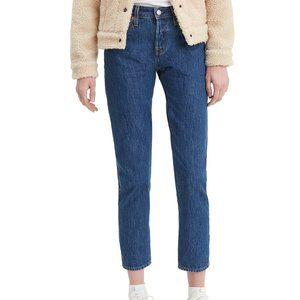 Levi's Women's 501 Taper Leg Relaxed Denim Jeans